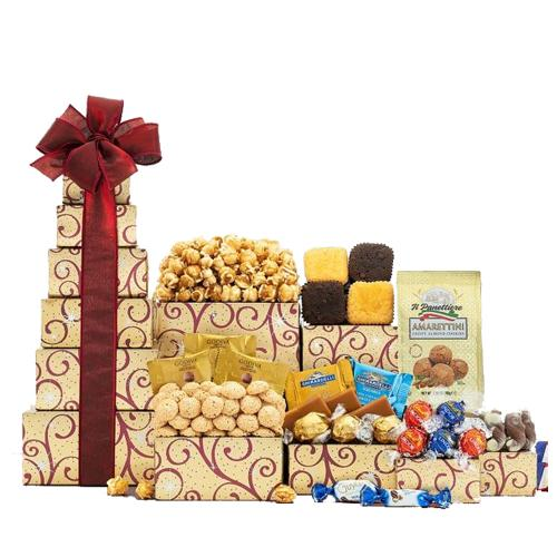 Divine Chocolates N Xmas Delicacy Gift Tower