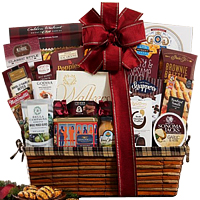 Yummy Taste of Tradition Christmas Gift Basket