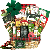 Adorable Ultimate Celebration Christmas Gift Basket