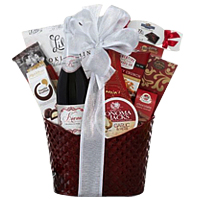 Christmas Treat Gift Hamper with Kiarna Wine