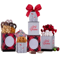 Traditional Christmas Special Chocolaty Gift Tower