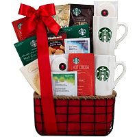 Entertaining Evening in Gift Hamper for Coffee Lover