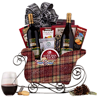 Remarkable Wine N Gourmet X-mas Treat Hamper