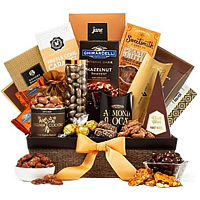 Delicate Signature Gift Hamper of Chocolates N Nuts