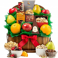 Merry Mix-Up Gift Hamper with Fruits N Nuts