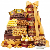 Delicious Chocolate Lovers Gift Tower
