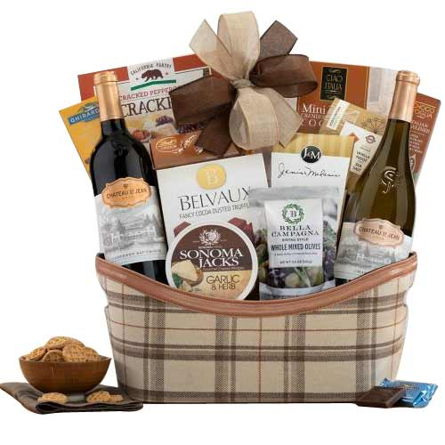 Buttery Taste of Wine with Gift Hamper