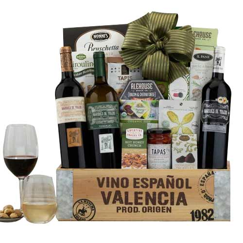 Alluring  Gift Hamper with Wine