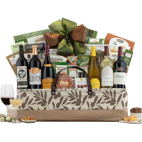 Happy Celebration Wine Gift Treats