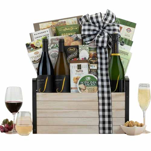 Full Enjoyment Wine with Gift Hamper