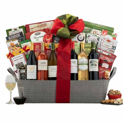Seasons Delight Napa Valley Wine Gift with Lots