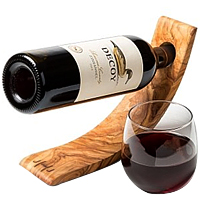 Sweet N Spicy Wine Gift with Wooden Holder