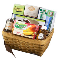 Begin the Day with Tea N Honey Gift Hamper