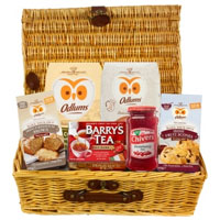 Breath taking Basket full of Assorted Gourmet Hamper