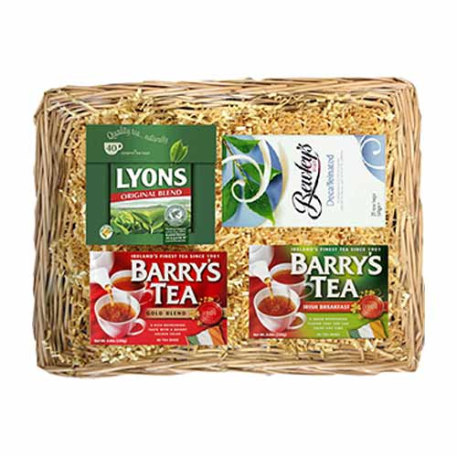 Unbeatable Taste Of Assorted Tea Basket for X-Mas