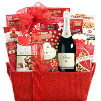 Kiarna Sparkling Valentine Collection Gift Basket
