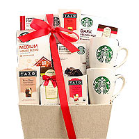 Starbucks Favorites Coffee and Tea Assortment Gift Basket