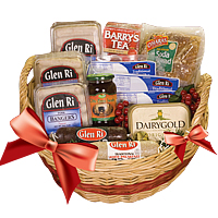 Irish Family Breakfast Basket to USA - Deluxe