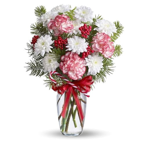 Exotic Florist Designed Bouquet of Wintry Flowers<br>