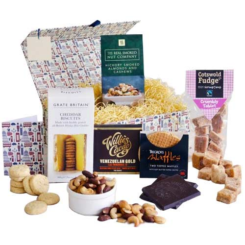 Best of British Food Delights Gift Hamper