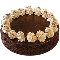 Surprising Love Special Mousse White and Dark Chocolate Cake