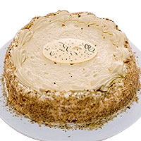 Sensational Birthday Special Carrot Cake
