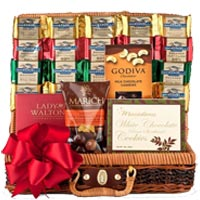 Chocolate Temptations Basket