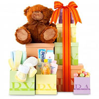 Beautiful Baby Gift Tower