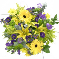 Bright Yellow Treasure Bouquet