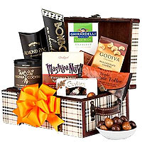 Nuts and Chocolate Gift Chest