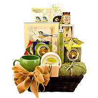 Organic Spa Basket