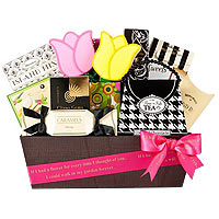 Moms Sweet Retreat Gourmet Gift Basket