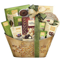 Godiva Collection Gift Basket