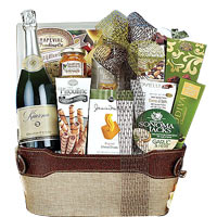 Kiarna Sparkling Wine Assortment Gift Basket