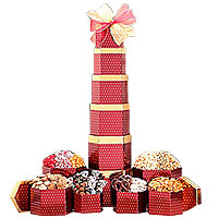 Deluxe Chocolate and Sweets Tower