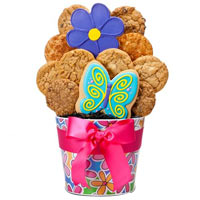 Mothers Day Blossoming Cookie Bouquet