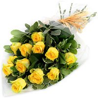 Pretty Yellow Roses Bouquet