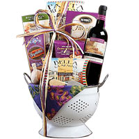 Portobello Montepulciano Red Wine Assortment Gift Basket