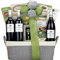 Steeplchase Red Wine Trio Gift Basket