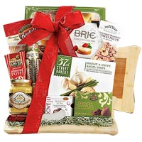 The Cutting Board Collection Gift Basket