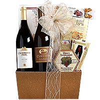 Pinot Noir and Chardonnay Assortment Gift Basket