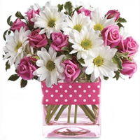 Beautiful Polka Dots and Posies